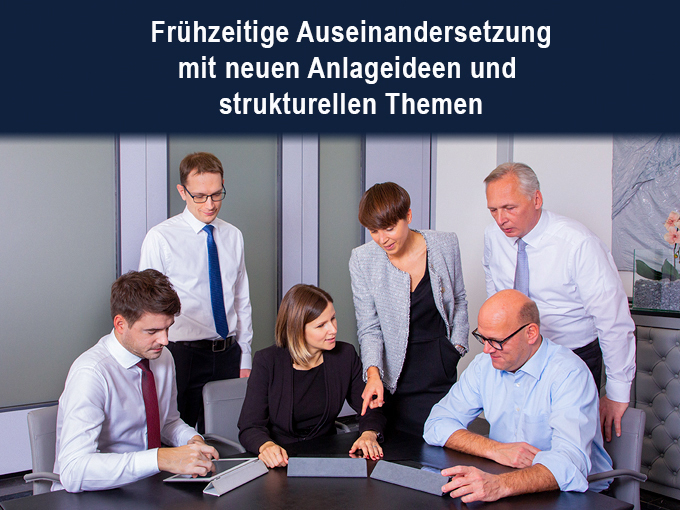 Fondsmanagerbesprechung © Kathrein Capital Management GmbH